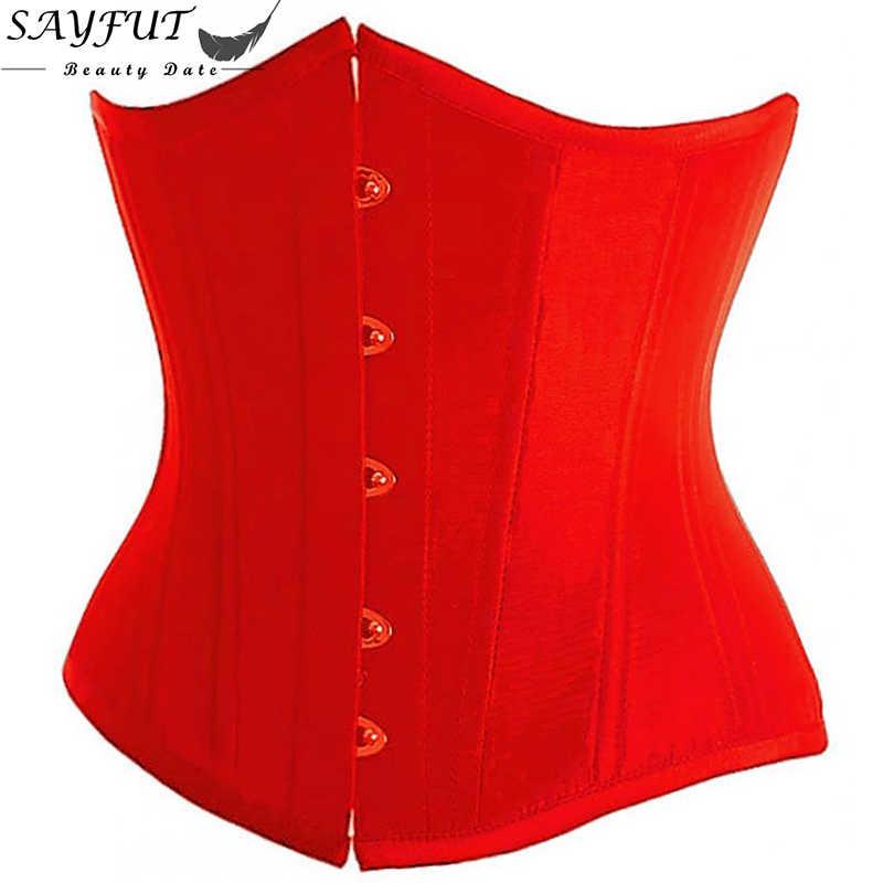 Плюс Размер 6XL Корректирующее белье Модные женские сексуальное готическое белье корсет под грудью кружевные корсеты и бюстье