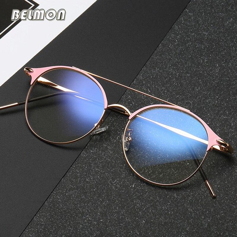 Anti-Blau Rays Brillengestell Männer Frauen Brillen Opitcal Computer Gaming Brillen Klare Linse Für Männlich Weiblich Brillen RS548