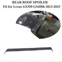 Asas de Fibra De carbono Traseiro Telhado Spoiler Para Lexus GS350 2012 2013 2014 2015 Carros GS e F Esporte Para Carros