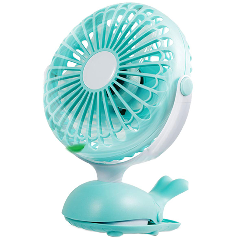 Clip Fan Portable Stroller Fans Cute Whale Design Rechargeable Usb Personal Desk Fan Adjustable Tilt Whisper Quiet OperationClip Fan Portable Stroller Fans Cute Whale Design Rechargeable Usb Personal Desk Fan Adjustable Tilt Whisper Quiet Operation
