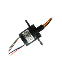 ZSR022 08A 8 Channel 2A High Speed Ball Spare Parts Accessories Slip Ring 22mm Out Diameter