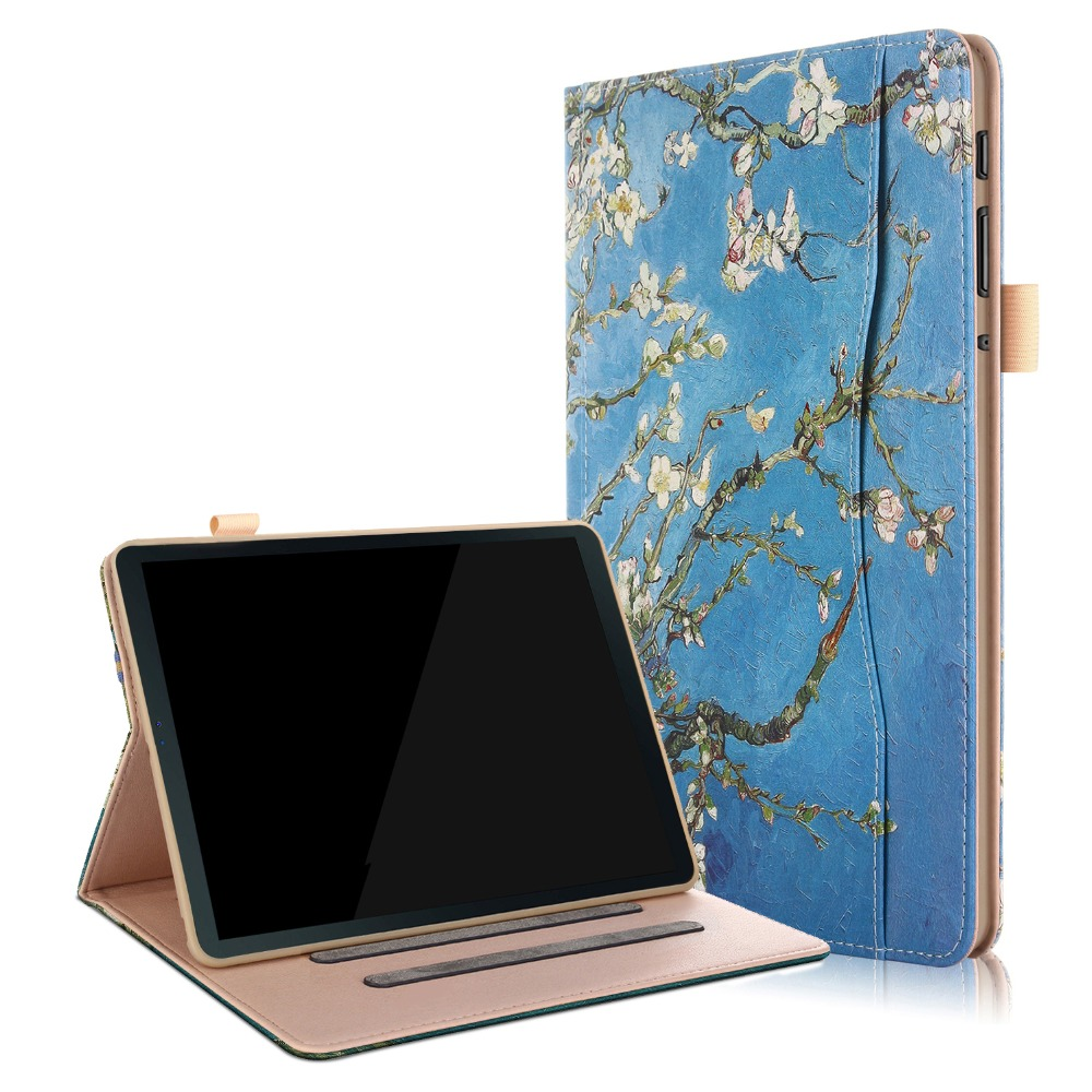 Case For Samsung Galaxy Tab A 10.5 2018 SM-T590 T595 T597 PU Leather Smart Stand Cover For Galaxy Tab A 10.5 Case