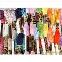 8,7 ярдовая нить для вышивки, нить для вышивки крестом, нить для вышивки, нить для вышивки, Аналогичная DMC, всего 50 штук-Выберите любой цвет