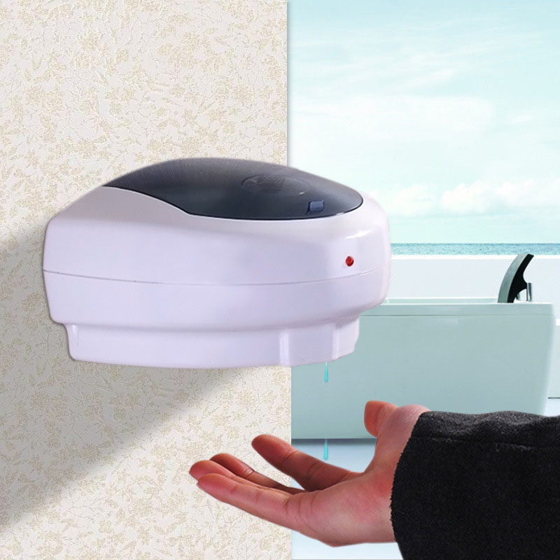 500ML Wall mounted Automatic Hand Sanitizer Holder ABS Automatic Sensor Soap Dispenser Liquid Shampoo Gel Dispenser 500ml wall mounted automatic hand sanitizer holder abs automatic sensor soap dispenser liquid shampoo gel dispenser