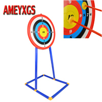 1pc Target Stand Board Children Shot Game Plastic Target Stand Board Kids Shooting Practice Gift Toy Archery Accessories