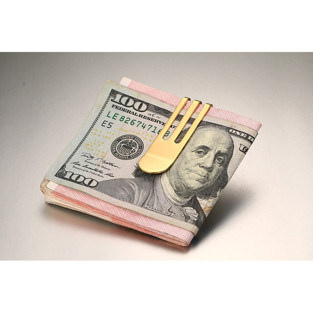 Minimalist Titanium Money Clip