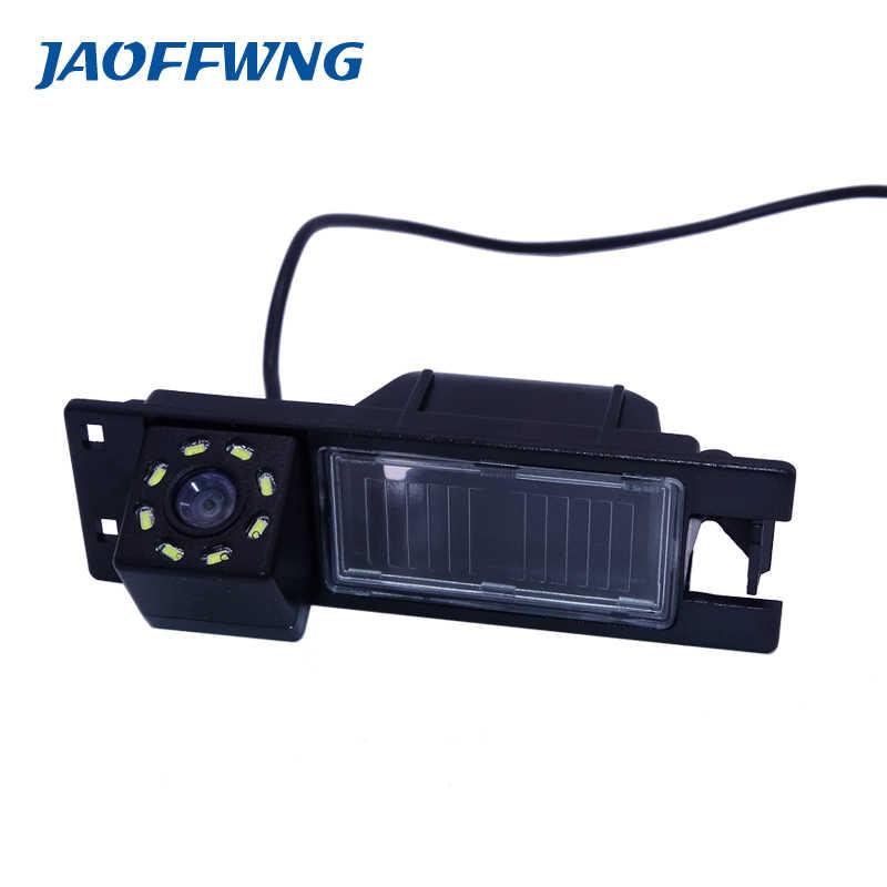 Caméra de recul étanche pour voiture avec capteur d'image ccd 8 led + hd adapté pour Opel Astra H/Corsa D/Meriva A/Vectra C/Zafira B/FIAT