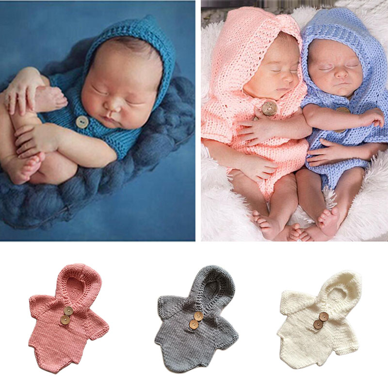 Kleider Neugeborene Fotografie Props Infant Kostüm Outfit Nette Prinzessin Handgemachte Häkeln Blume Kappe Baby Mädchen Sommer Kleid