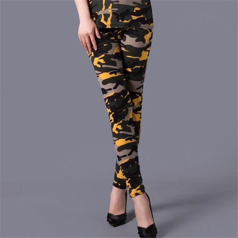 NDUCJSI Camouflage Printed Leggings Women High Waist Pants Plus Size Leggins Push Up Legging Workout Elastic Fitness Leggins in Leggings from Women 39 s Clothing