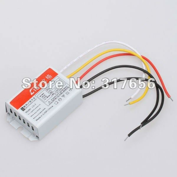 Free ship,Digital Subsection Switch 2 Way 3 Section Lighting Control ...