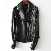 2019 New Fashion Genuine Sheep Leather Jacket H10