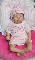 22 детские Куклы Силиконовые винил возрождается хобби реалистичные спальный Reborn Baby Doll Игрушечные лошадки для Обувь для девочек