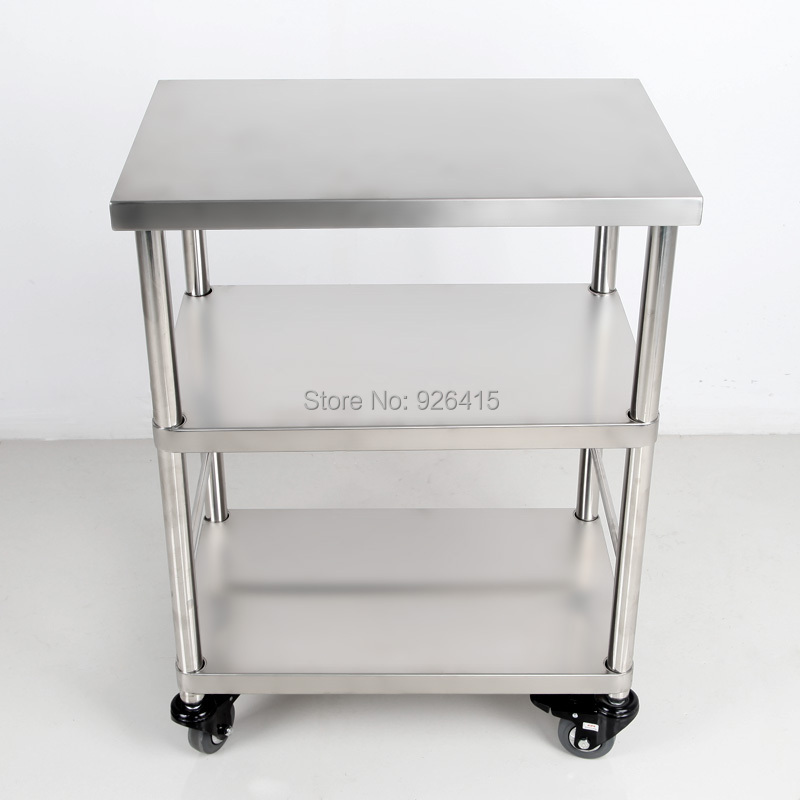 Hotel Drinks Service Trolley With Wheels Home Basics Kitchen Utility Cart Small Microwave 3 Shelf Housekeeping In From