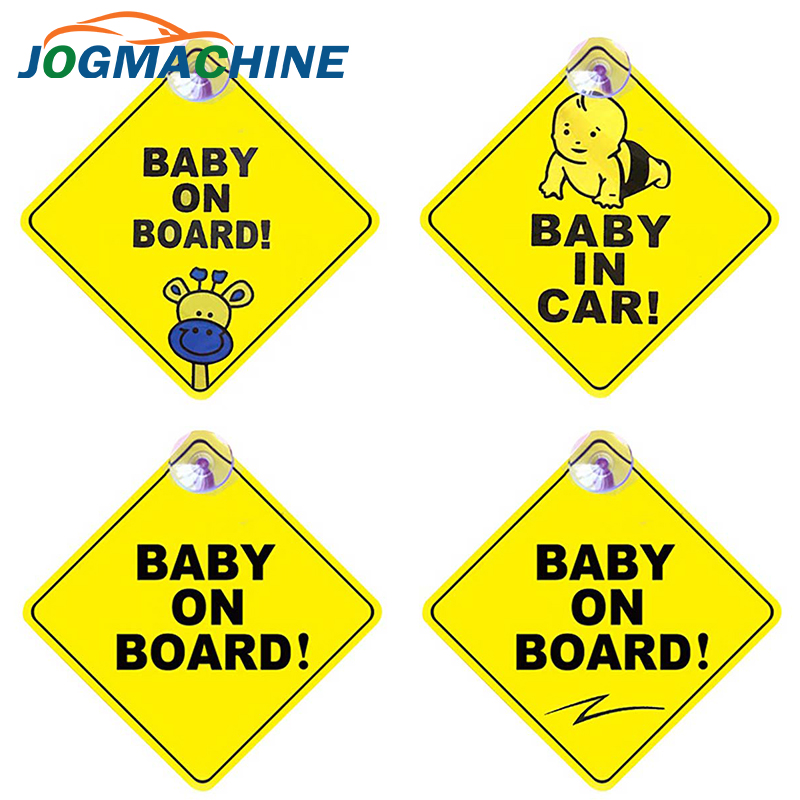 Car Sticker Baby ON BOARD Warning Safety Sign Stickers Vinyl Decal Car Styling For Body Door Window Sticker