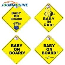 Pegatina de coche para bebé a bordo, pegatinas de señal de alerta de seguridad, pegatina de vinilo, diseño de coche para puerta de carrocería, pegatina de ventana