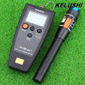 KELUSHI FTTH 2 in 1 fiber Optic Tool Kit fiber optical power meter 10mW visual fault locator cable tester for Telecom