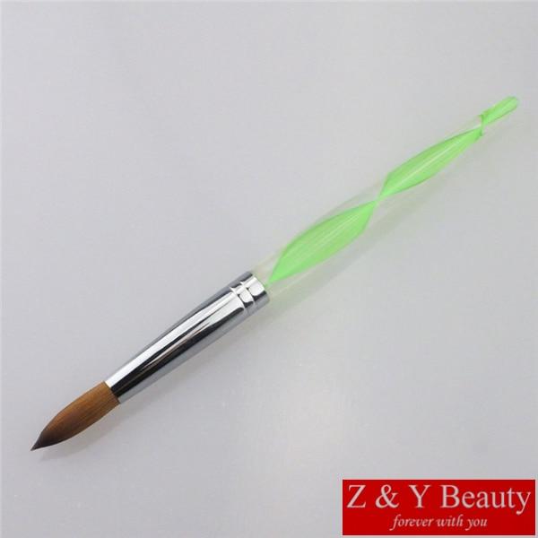 Hot Sale! Factory Direct,SIZE 14 Nail Brush,100% Kolinsky Acrylic ...