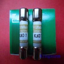 Frete grátis 10 pcs KLKD 7 new genuine Americano Littelfuse fusível/fusível 10*38 7A