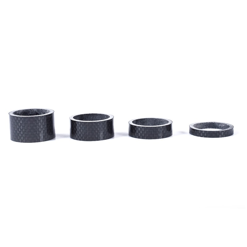 Carbon Fibre Glossy Headset Spacers 10
