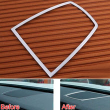 BBQ@FUKA Dashboard Centre Console Speaker Frame Cover Trim Sticker Interior Styling Fit For 7 Series 730li 740li F01 F02 2010-15