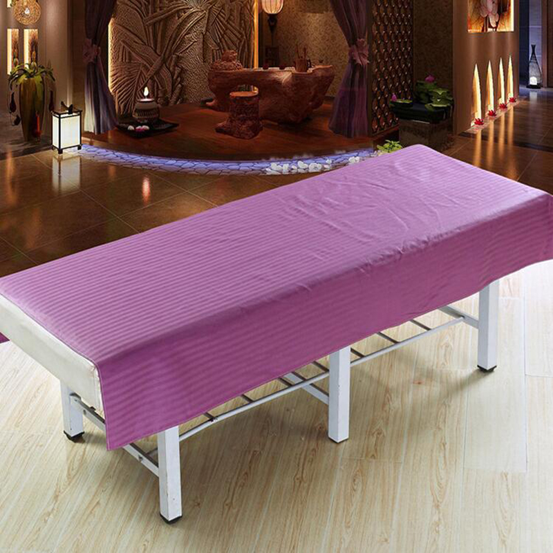 Salon Nail Art Massage Bed Cover Sheets SPA Cotton Massage Towel Table  Cloth Beauty Flat Bed
