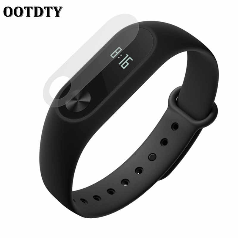 OOTDTY Screen Protector Ultra thin HD Film Smartband Anti Scratch Für Miband 2 Smart Armband Wrsitband Zubehör