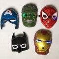 СВЕТОДИОДНЫЕ Светящиеся супергероя Мстители Marvel вентилятор человек-паук ironman капитан америка халк бэтмен маска для малыш party masks