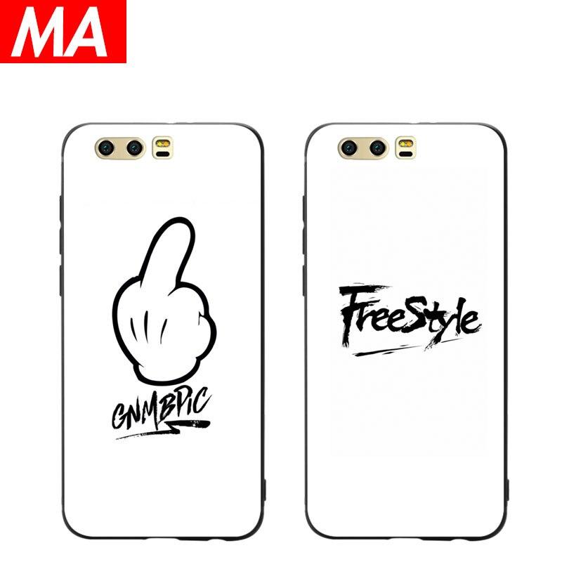 MA The Freestyle Phone Case For Huawei P8 lite 2017 P9 P10 P20 Lite Plus Nova Honor 6C 6A 6X Honor 8 Honor 9 Mate 10 lite