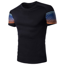 Men T shirt 2017 New short sleeves t-shirt mencompression O collar Fashion Hipster Tops The Printed t shirts Cool & Tees