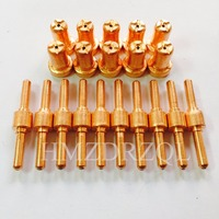 PT31 Lengthened 20PCS Tigs Nozzles LG40 Knife Plasma Cutter Cutting Torch Consumables Extended Kit Accessories 20PK