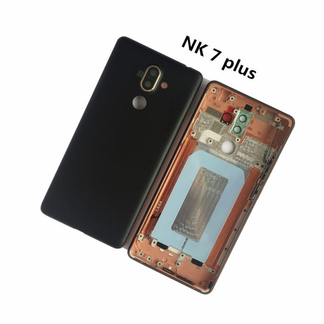 huge selection of 9dcbc c21d5 US $37.1 7% OFF|Brand New Battery Cover Case for Nokia 7 Plus Housing  Replacement for NK 7 PLUS Back Cover with Camera Glass -in Mobile Phone  Housings ...