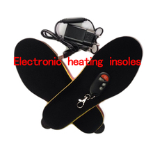 Winter Shoes Boots Pad Wireless Battery Powered Insoles Remote Type 1800 ma RED Memory Foam  Cut to Fit
