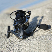NA2000 3000 4000 5000 9BB 5:2:1 Fishing Reel Aluminum Spinning Fish Tool Automatic Folding Handle YL-11