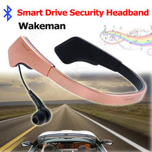 Free shipping!Wakeman Smart Anti-Sleep Drive Headband BT4.0 Fr Fatigue Driving/Stay Up Working