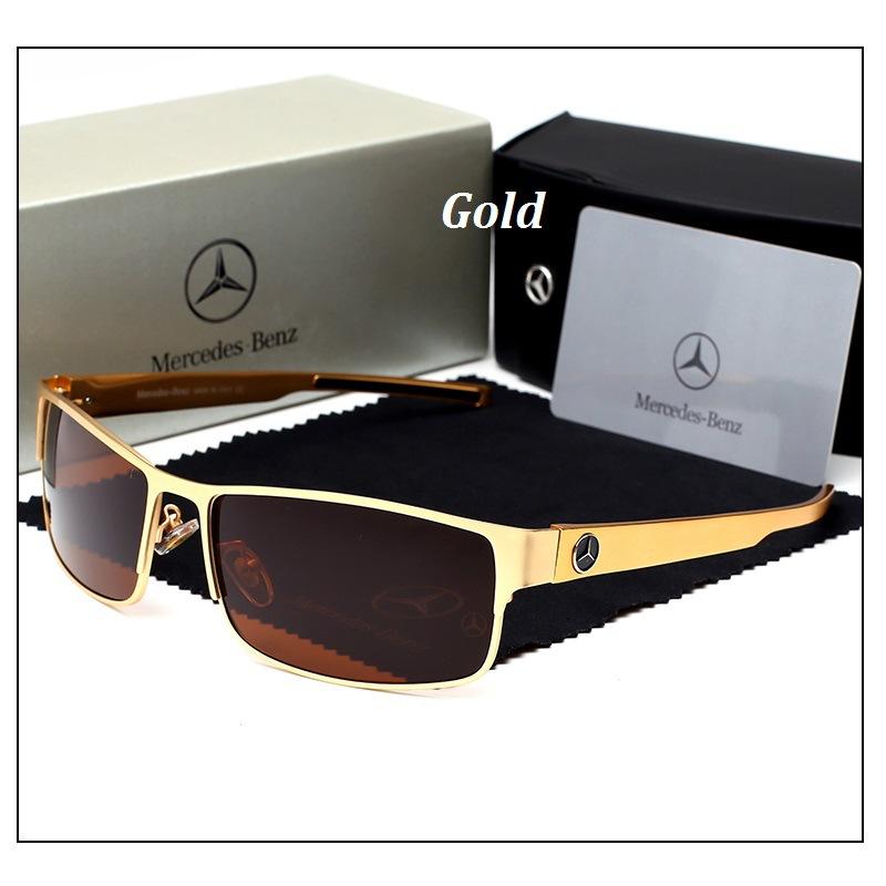 90eb7bc9dcf Details about Mercedes Brand Polarized Sunglasses Driving Men Glasses Men s  BRAND BOX Benz New
