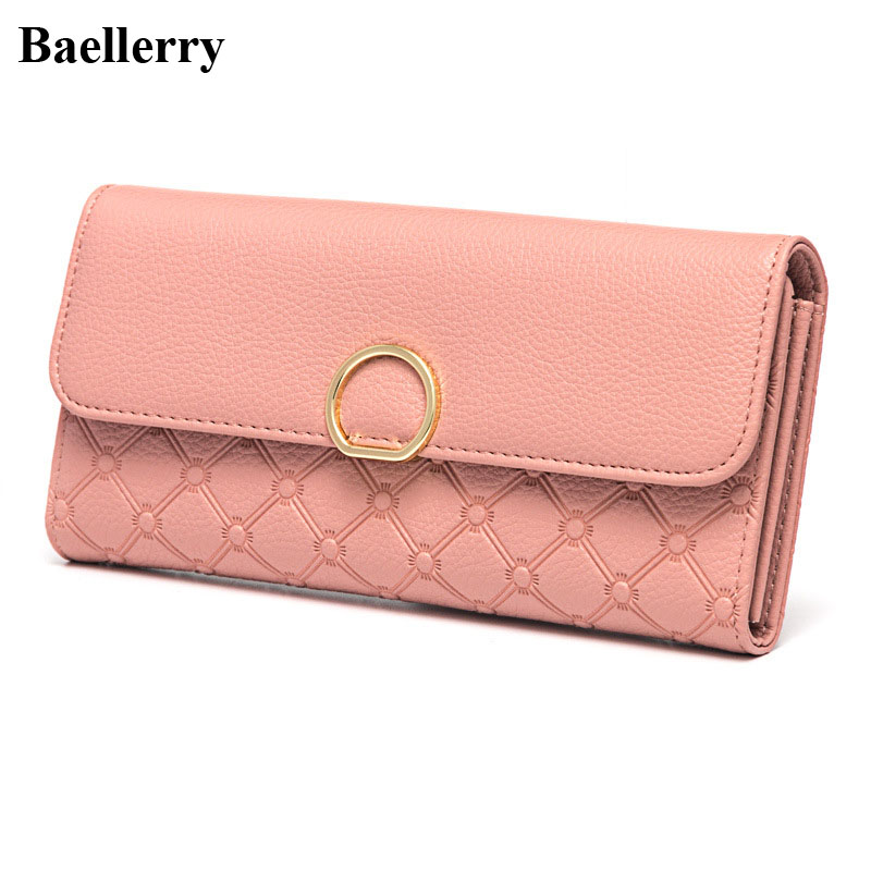New Designer Leather Wallets Women Brand Fashion Long Coin Purses Female Clutch Wristlet Phone Wallets Money Bags Card Holders 2017 new designer wallets women brand leather fashion long red coin purses female clutch phone wallets money bags card holders