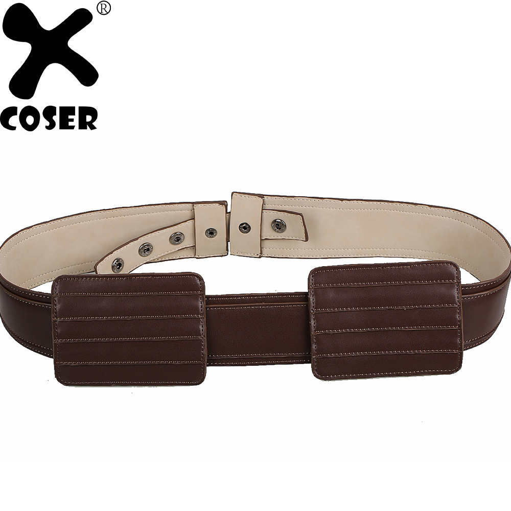 XCOSER Star Wars Count Dooku Belt Movie Cosplay Props Women Men Halloween Party Cosplay Costume Accessories Belts Adjustable