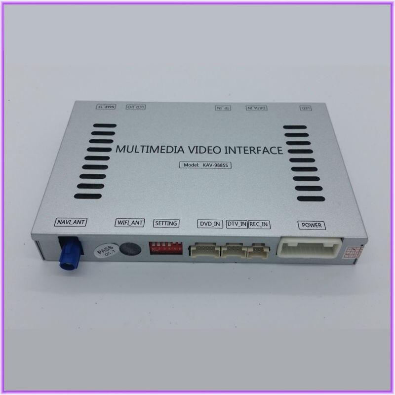 Вид сзади автомобиля Камера DVD GPS навигации мультимедиа аудио видео интерфейс для 2015 Mercedes GLE класса ntg5/ntg5.1 audio20 CD