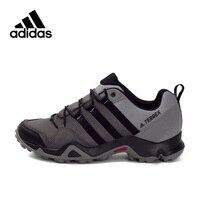 Официальный аутентичный Adidas TERREX AX2R Для Мужчин's Пеший Туризм уличная спортивная обувь кроссовки Горячая Распродажа дышащие легкие Нескольз