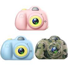 Children Toy Digital Camera 2 inch 600mAh 800W HD Screen Mini Cartoon Toys for Kids Birthday Gift