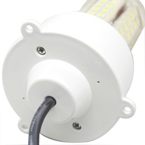 Image 4 - 12 W/18 W LED Luz de pesca submarina impermeable 360 grados lámpara señuelo de peces para barco marino 12V