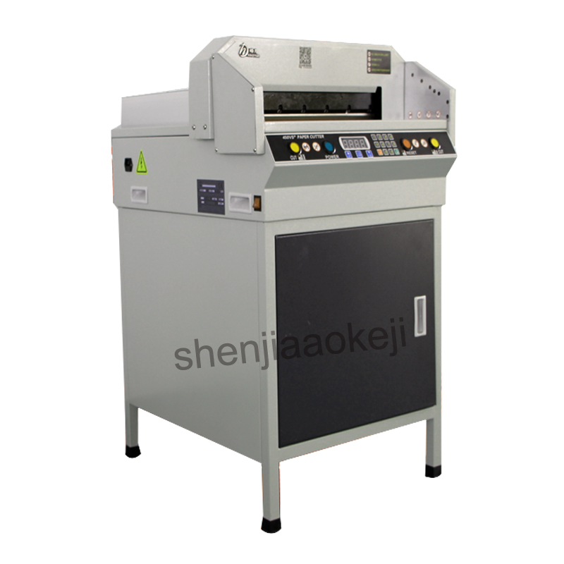 G450VS + электрическая установка резки бумаги автоматическое NC Бумага резак A3 размер машина для резки бумаги цифровой Бумага trimmer110v/220 v 1 pc