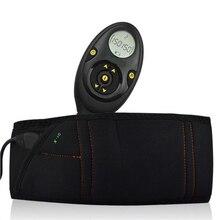 Männlichen 150 Intensität Ebenen EMS Wiederaufladbare Muscle Stimulator Bauchmuskeln Toner Abnehmen Flex Gürtel Mit Einzelhandel Box