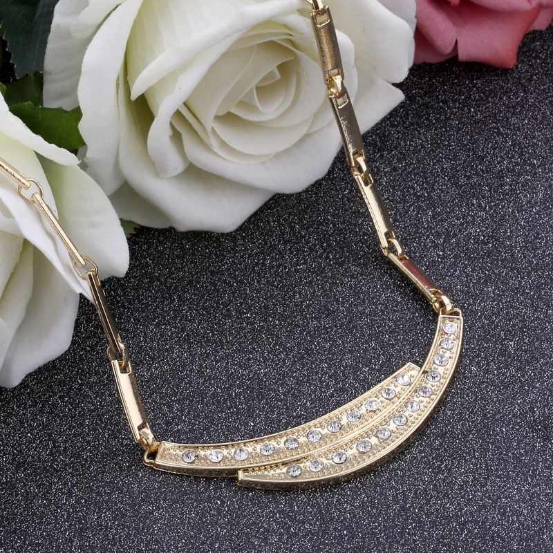 ZOSHI Parure di Gioielli da Donna Indiani Africano Insieme Dei Monili prezzo incredibile di Gioielli Da Sposa Per Le Spose Dubai Set di Gioielli In Oro