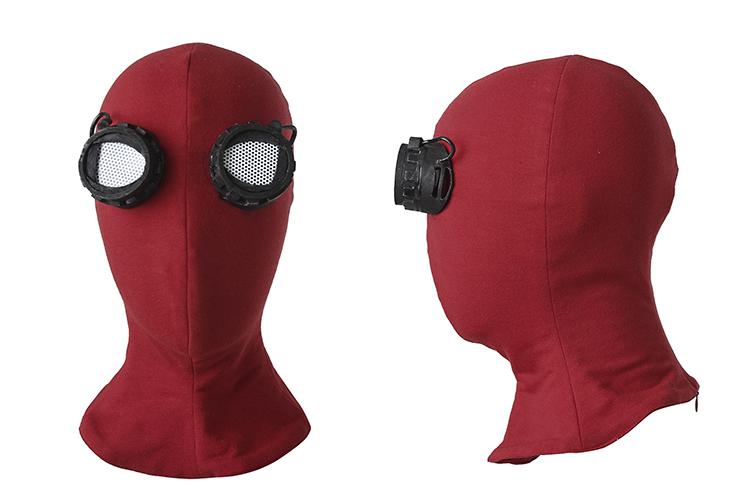 Spider-ManHomecoming Peter Benjamin Parker Costume Cosplay (12)