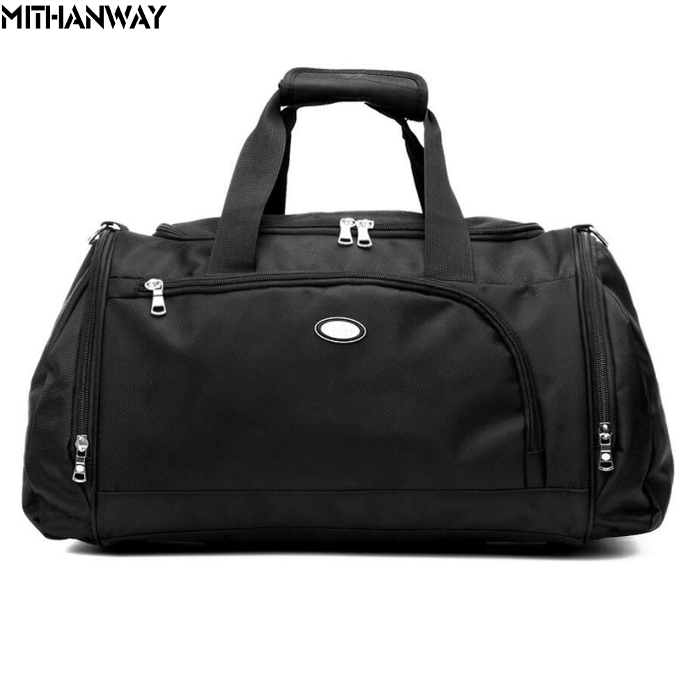 Women Men Large Capacity Oxford Sport Bag Crossbody Shoulder Duffel Bag Multifunction Sports Travel Gym Fitness Bag 4 Colors