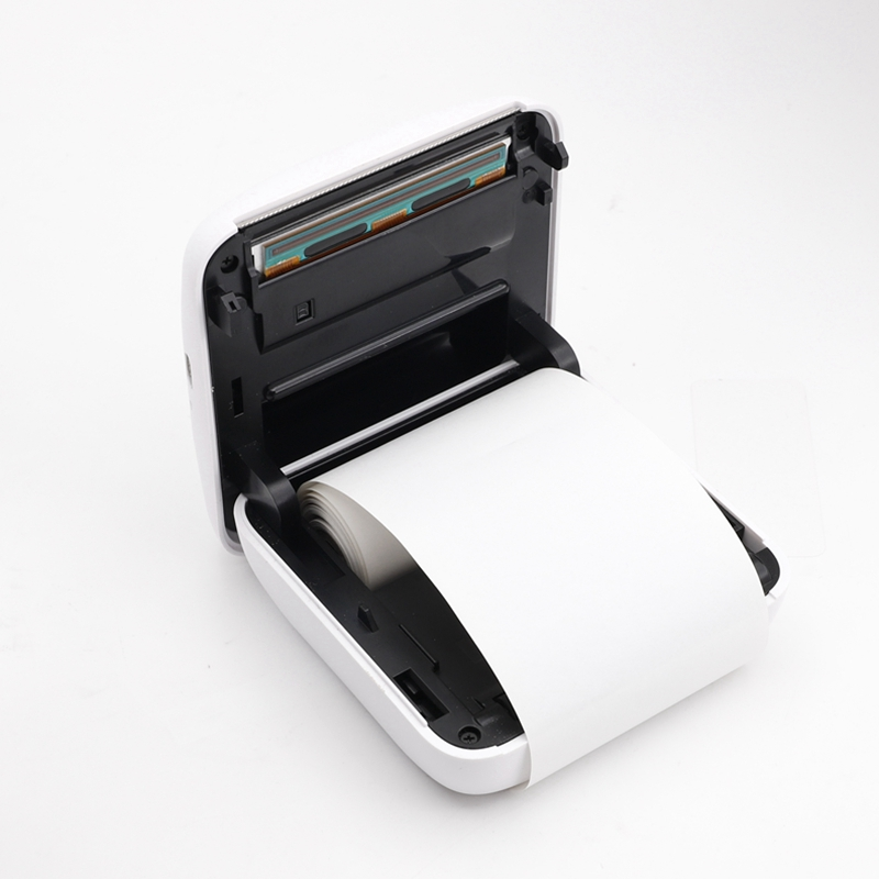 NNRTS P1 P2 Thermal Paper White Color Non-Adhesive Photo Paper 57x30mm For PAPERANG Portable Bluetooth Pocket Printer