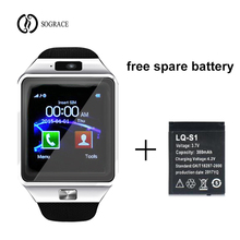 Купить с кэшбэком DZ09 Unisex Smart Watch For iPhone IOS Android Smart Phone Bluetooth Electronics SIM Card Sport Smartwatch Camera PK Y1 A1
