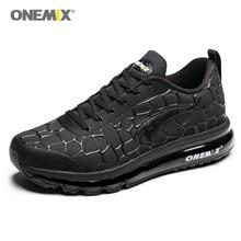 ONEMIX мужские легкие спортивные кроссовки черные дорожные кроссовки на открытом воздухе мужские спортивные ходьба Сникеры на воздушной подушке