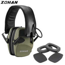 ZOHAN Electronic Earmuff NRR22DB Single Microphone Hunting Earmuffs Tactical Shooting Hearing Protection And Replacement Ear Cup - DISCOUNT ITEM  52% OFF All Category
